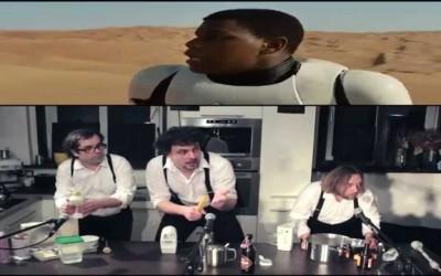 Star Wars trailer – part 1 – kitchen foley
