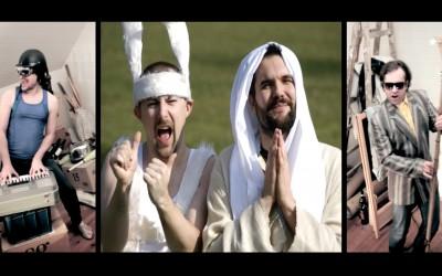 """Świerszczychrząszcz & Muzikanty – """"Song Wielkanocny"""" vel """"Królik"""" (It's Raining Men Cover)"""