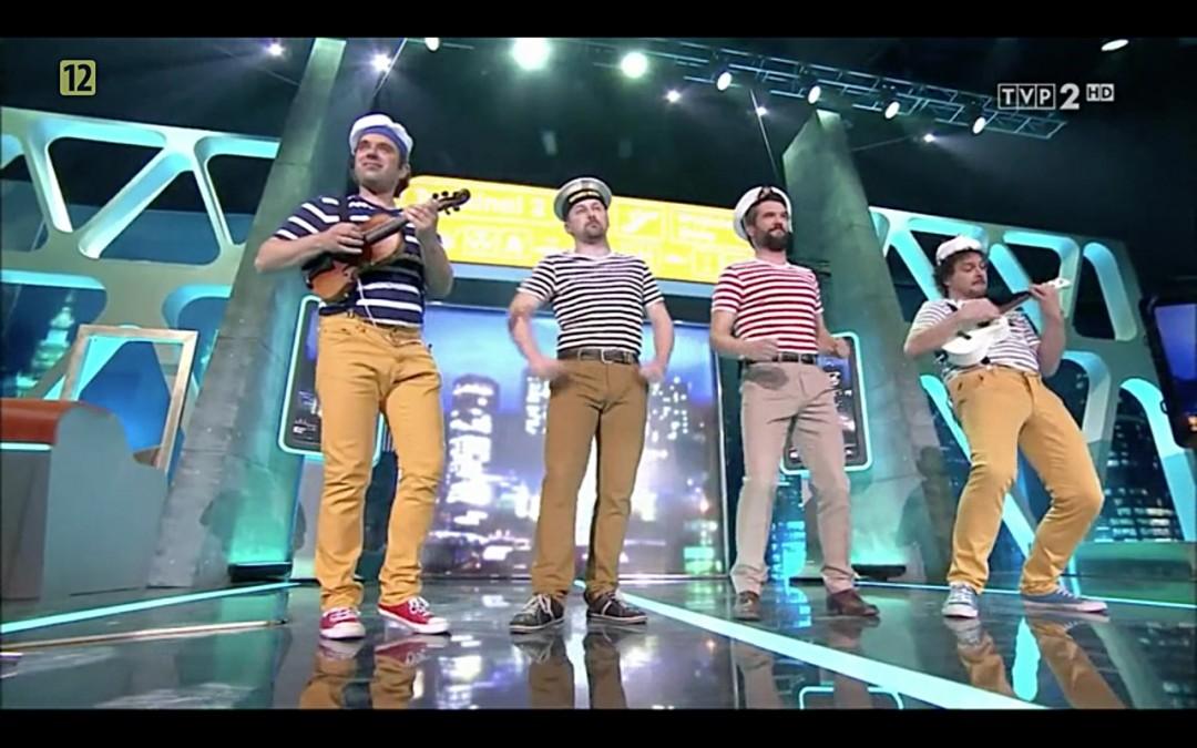 Świerszczychrząszcz & Muzikanty w Latającym Klubie TVP2