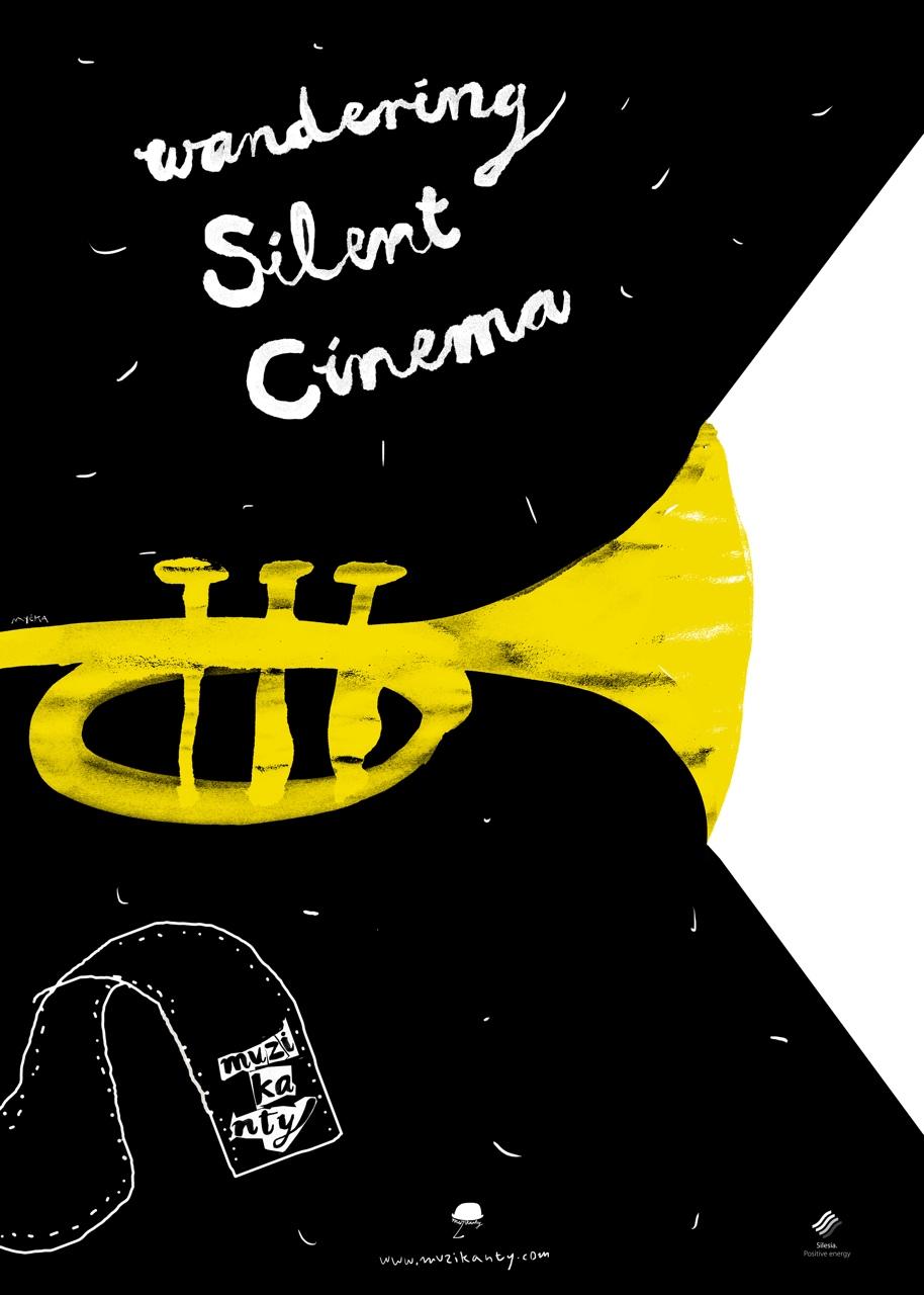 Wandering Silent Cinema poster (author: Grzegorz Myćka)